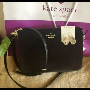 Kate Spade Madelyn Evening Bag Plus Earrings